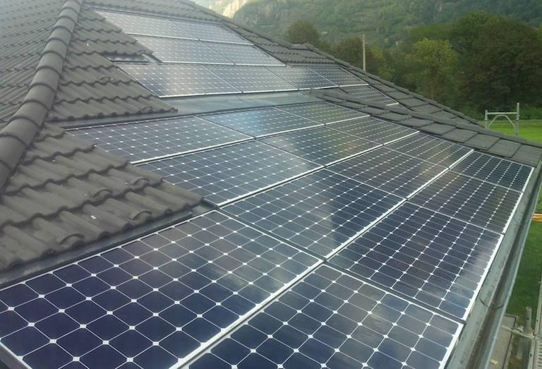 Impianto fotovoltaico integrato Sunpower