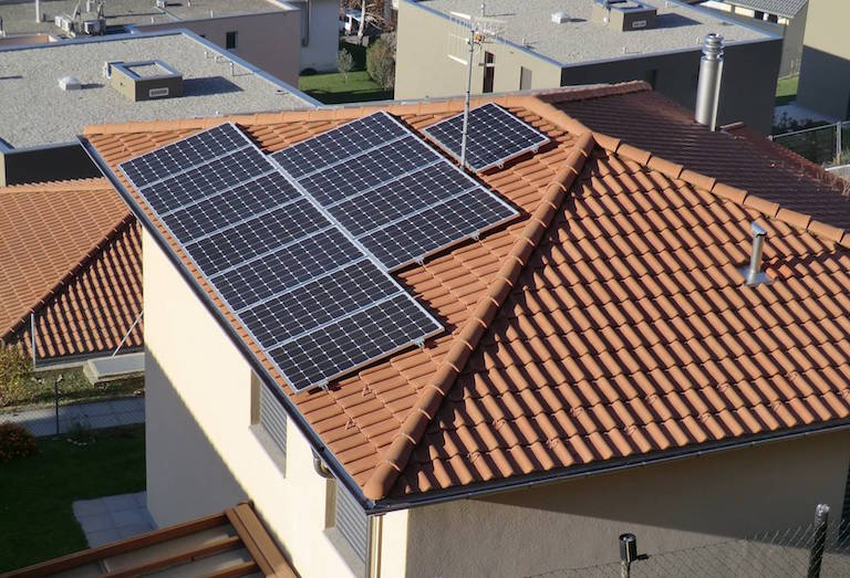 Impianto fotovoltaico domestico